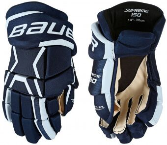 Цена на перчатки bauer supreme 150 jrПерчатки Bauer Supreme 150 JR